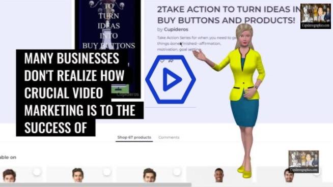 T-Shirt Video Promo (3D Avatar Style)